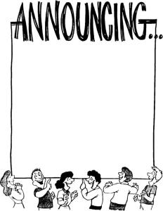 announce
