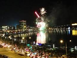 Luanda NY fireworks